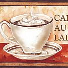 Caff Latte - My daily fix by Maree Clarkson