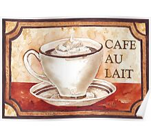 Caffé Latte - My daily fix Poster