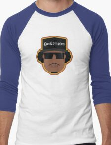Straight Outta Precompton Men's Baseball ¾ T-Shirt