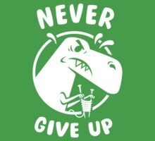 Never Give Up One Piece - Short Sleeve