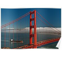 San Francisco Golden Gate Bridge, Cityscape Poster