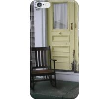 Front Porch Sitting iPhone Case/Skin