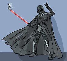 Darth vader selfie by matan kohn
