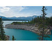 Abraham Lake, Alberta Photographic Print
