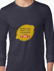 When Life Gives You Lemon Make TGS Long Sleeve T-Shirt
