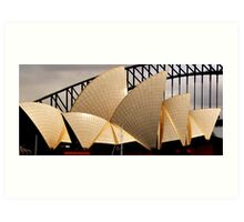 Australia Sydney Harbour Bridge Art Print