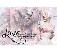 Love Is ........  Photographic Print