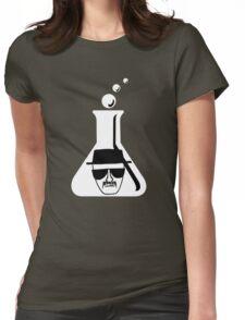 Heisenberg Flask Womens Fitted T-Shirt