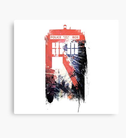 Funky Doctor Canvas Print