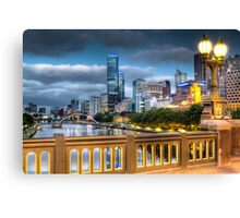 St. Kilda Rd Bridge - Melbourne Canvas Print