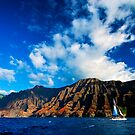 Nā Pali Coast of Kauai by Benjamin Padgett