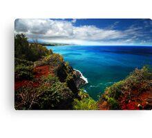 North Shore Seascape Canvas Print