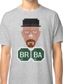 Pixelated Heisenberg Classic T-Shirt