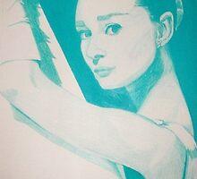 Monochromatic Starlet - Audrey Hepburn by vswart