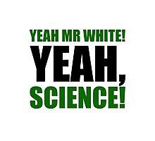Yeah Mr White! Yeah, Science! Photographic Print