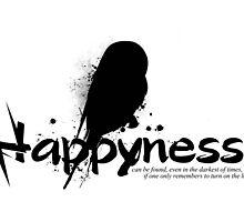 Happyness Owl by IceGirl84