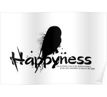 Happyness Owl Poster