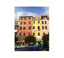 Colors of Vernazza Art Print