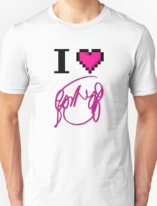 I Heart Flowers (White) T-Shirt