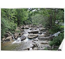 The Quiet of a Running Creek Poster