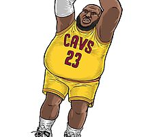 Lebron James by FBananaworks