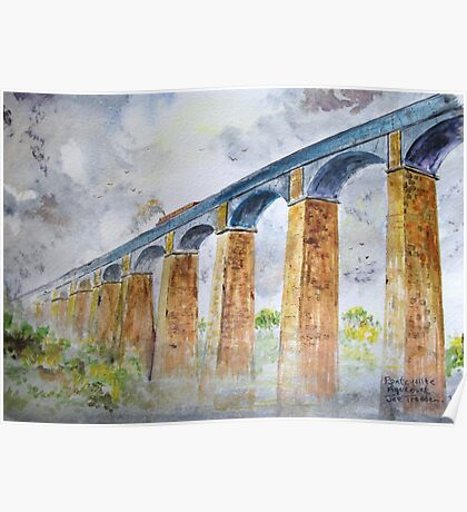 Pontcysyllte Aqueduct. Poster