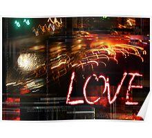 Digital Sensory Vision of Love Poster