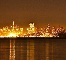 San Francisco - Skyline by Sam Maule