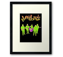 The Yardbirds T-Shirt Psychedelic Rock Framed Print