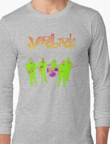 The Yardbirds T-Shirt Psychedelic Rock Long Sleeve T-Shirt