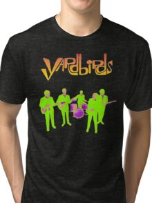 The Yardbirds T-Shirt Psychedelic Rock Tri-blend T-Shirt
