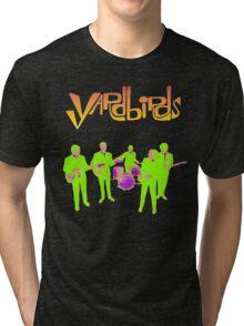 The Yardbirds T-Shirt Psychedelic Rock Tri-blend T-Shirt