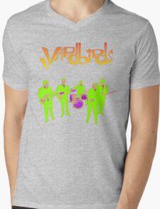 The Yardbirds T-Shirt Psychedelic Rock Mens V-Neck T-Shirt