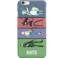 Gate: Thus the JSDF Fought There! iPhone Case/Skin