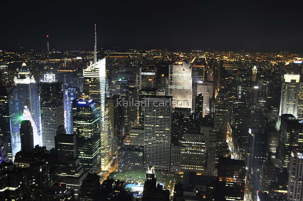NYC shot in RAW from Empire States Building by MJD Photography  Portraits and Abandoned Ruins