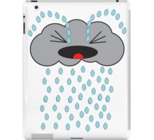 Crying Cloud iPad Case/Skin
