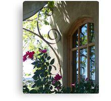Beautiful window setting Canvas Print