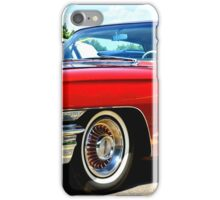Red Classic Cadillac iPhone Case/Skin