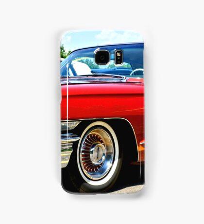 Red Classic Cadillac Samsung Galaxy Case/Skin