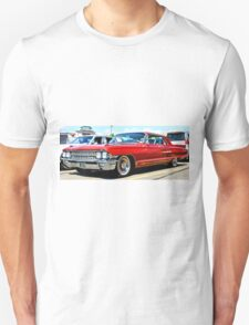 Red Classic Cadillac T-Shirt