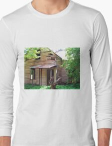 North Fork Helena Abandoned House Long Sleeve T-Shirt