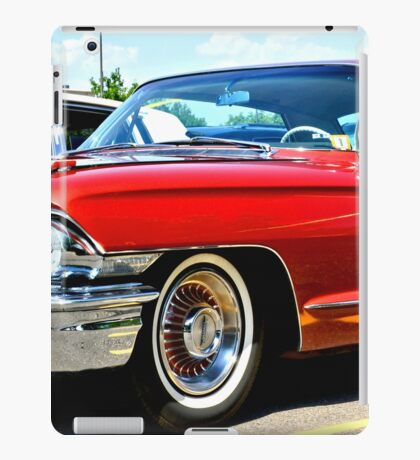 Red Classic Cadillac iPad Case/Skin