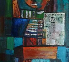 Newsboy 2 by Sally Sargent