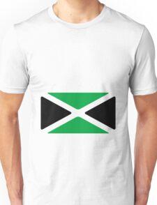 Jamaica Flag 1.0 (large) Unisex T-Shirt