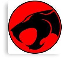 Thundercats 1985 Cat Symbol on Sword Shirt Canvas Print