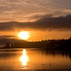 Puget Sound Sunrise by Jerome Petteys