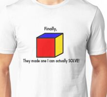 Simple Cubic Unisex T-Shirt