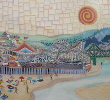 Santa Cruz Boardwalk by Sally Sargent