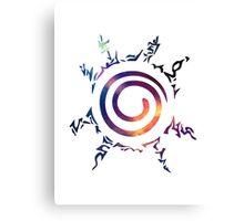 Naruto Kyuubi Seal (Galaxy) #1 Canvas Print
