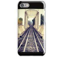Where the Tracks Lead iPhone Case/Skin